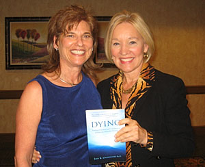 Noted author and frequent guest on Oprah, Christiane Northrup, M.D., endorses Dr. Underwood's book Dying: Finding Comfort and Guidance in a Story of a Peaceful Passing