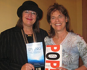 Best selling author Sam Horn endorses Dr. Underwood's book Dying: Finding Comfort and Guidance in a Story of a Peaceful Passing